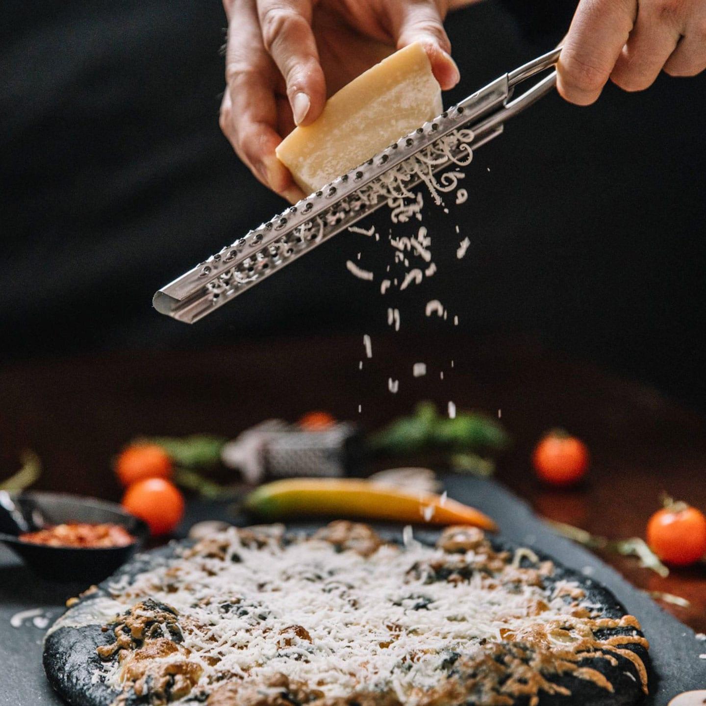 My Favorite Easy Black Pizza Toast Recipe